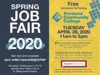 PCC Spring Job Fair at Cascade Campus