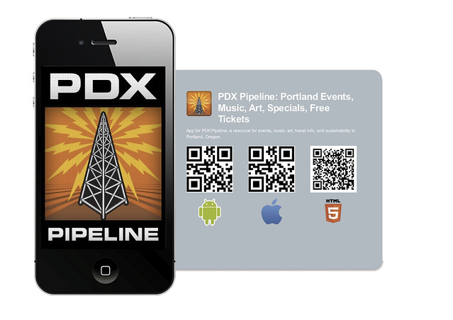 PDX Pipeline Portland Events Iphone & Android App