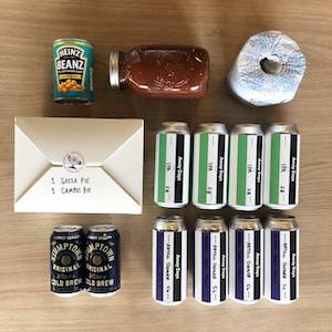 Away Days X Toffee Club survival packs