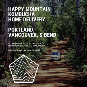 Win Kombucha ($60): Happy Mountain Kombucha Offering Delivery to Portland & Vancouver | Cases & Mix Packs