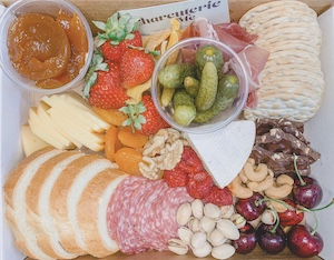 Charcuterie Me Offering Delivery & No-Contact Pickup in Portland | Gourmet Cheeses, Cured Meats, Fresh Fruit & Berries