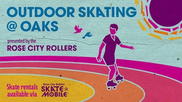Outdoor Skating at Oaks Park!