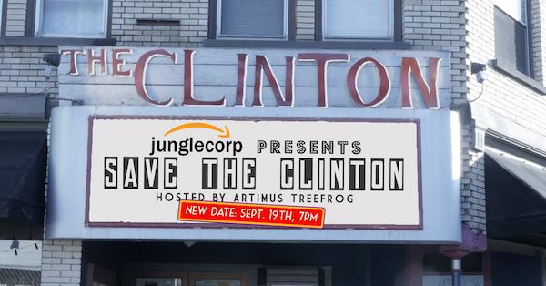 Junglecorp Presents: SAVE THE CLINTON!