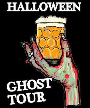 beerquest portland walking tours halloween