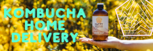 KOMBUCHA HOME DELIVERY!