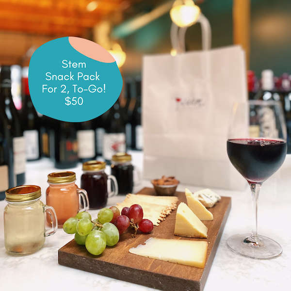 stem wine snack pack