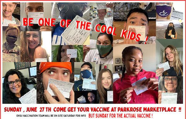 Parkrose Market Vaccines